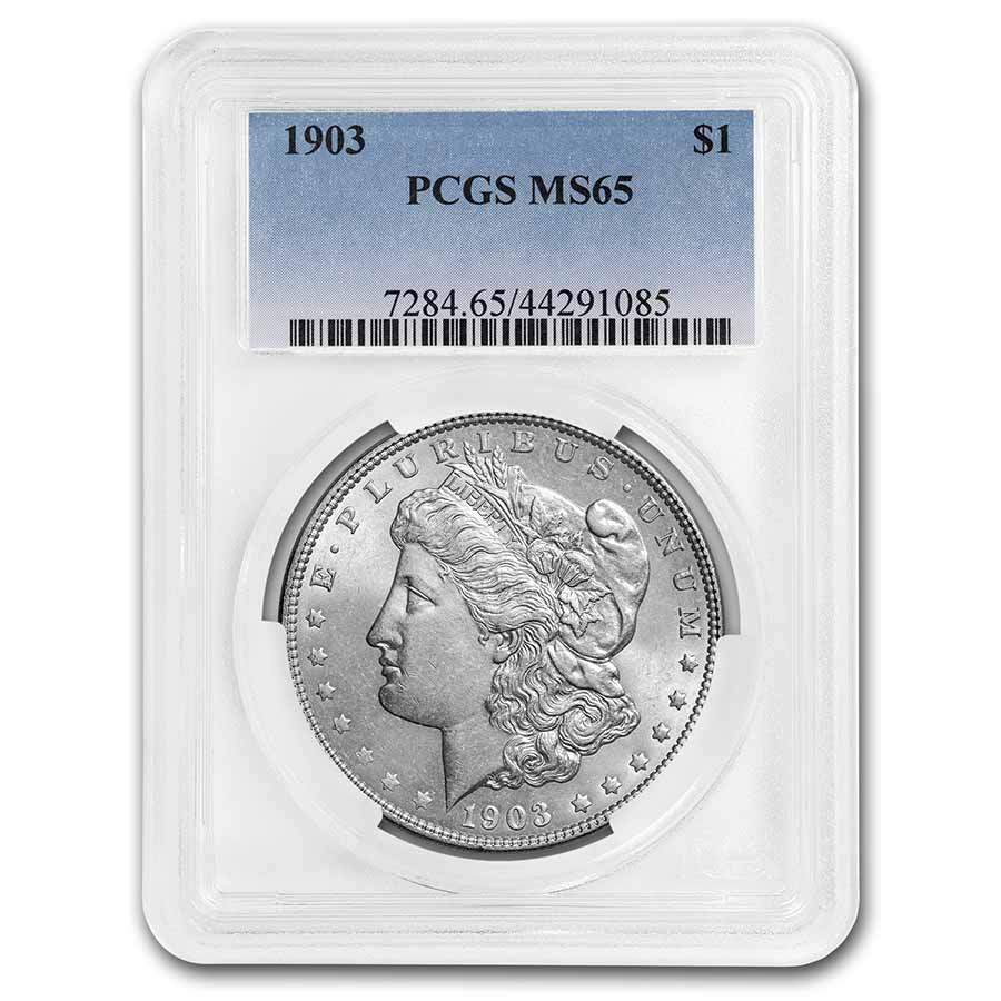 1903 Morgan Dollar MS-65 PCGS