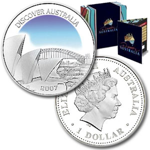 2007 Australia 1 oz Silver Sydney Proof