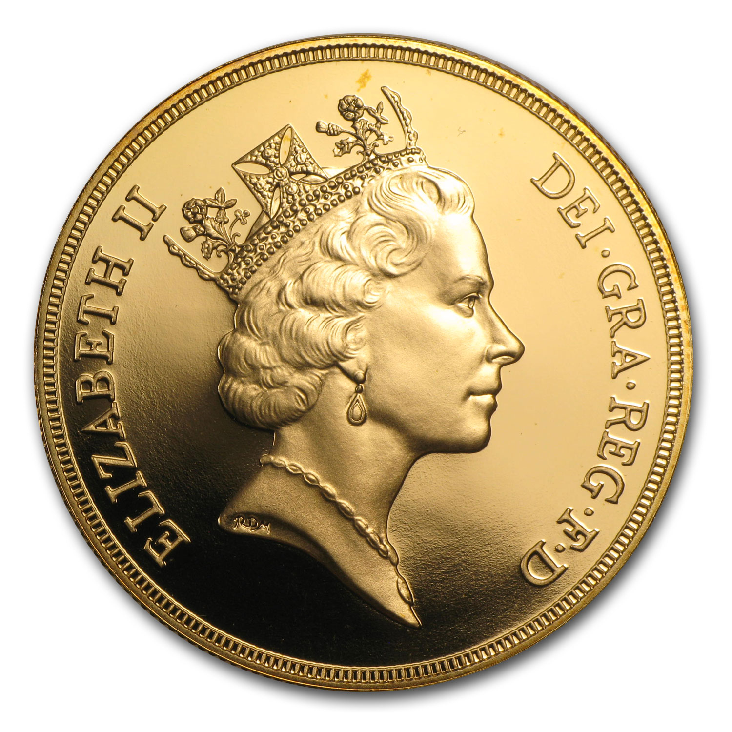 Great Britain 1985 Gold £5 BU