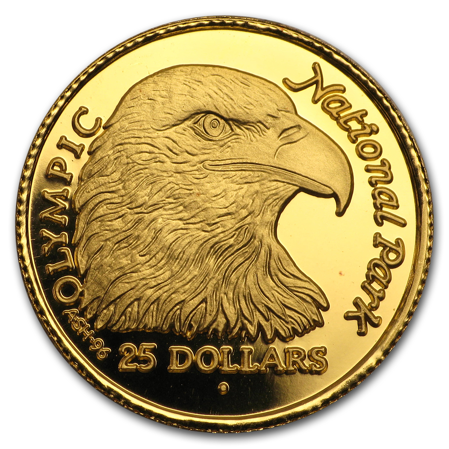 1996 Cook Islands Gold $25 (AGW 0.10)