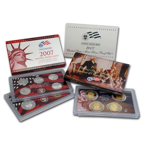 2007 Silver Proof Set