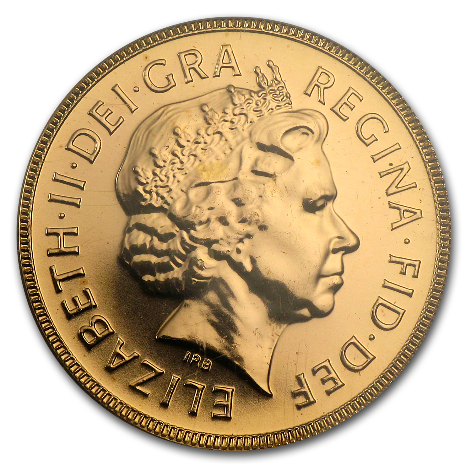Great Britain 2002 Jubilee Gold Sovereign BU