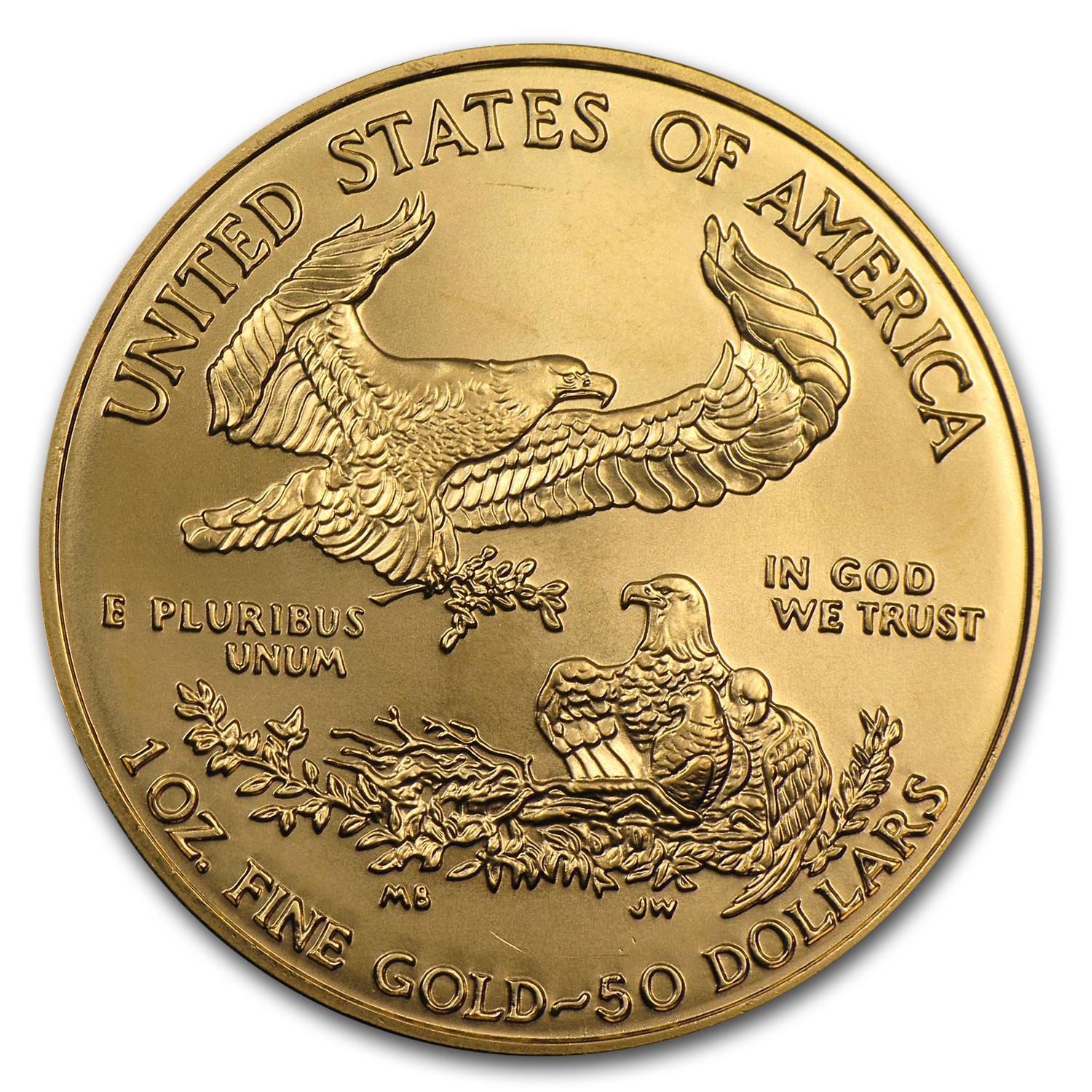 2006-W 1 oz Burnished Gold American Eagle