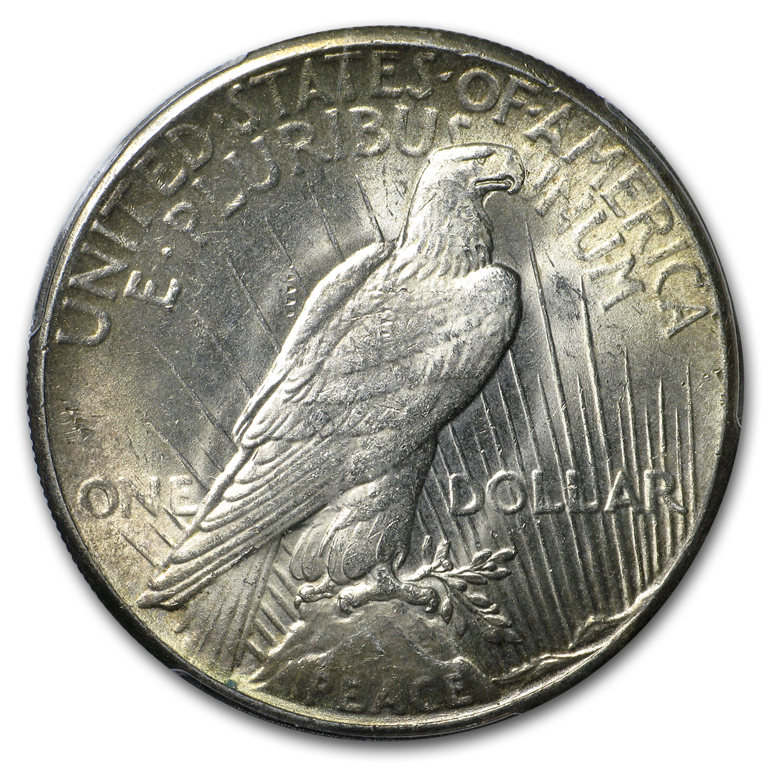 1928 Peace Dollar MS-64 PCGS (Key Date, Toning)