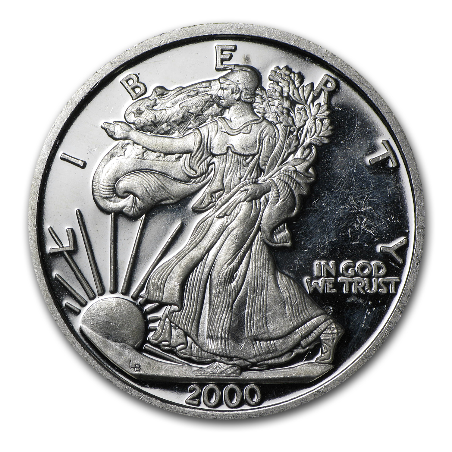 .40 oz Silver Rounds - Millennium Eagle