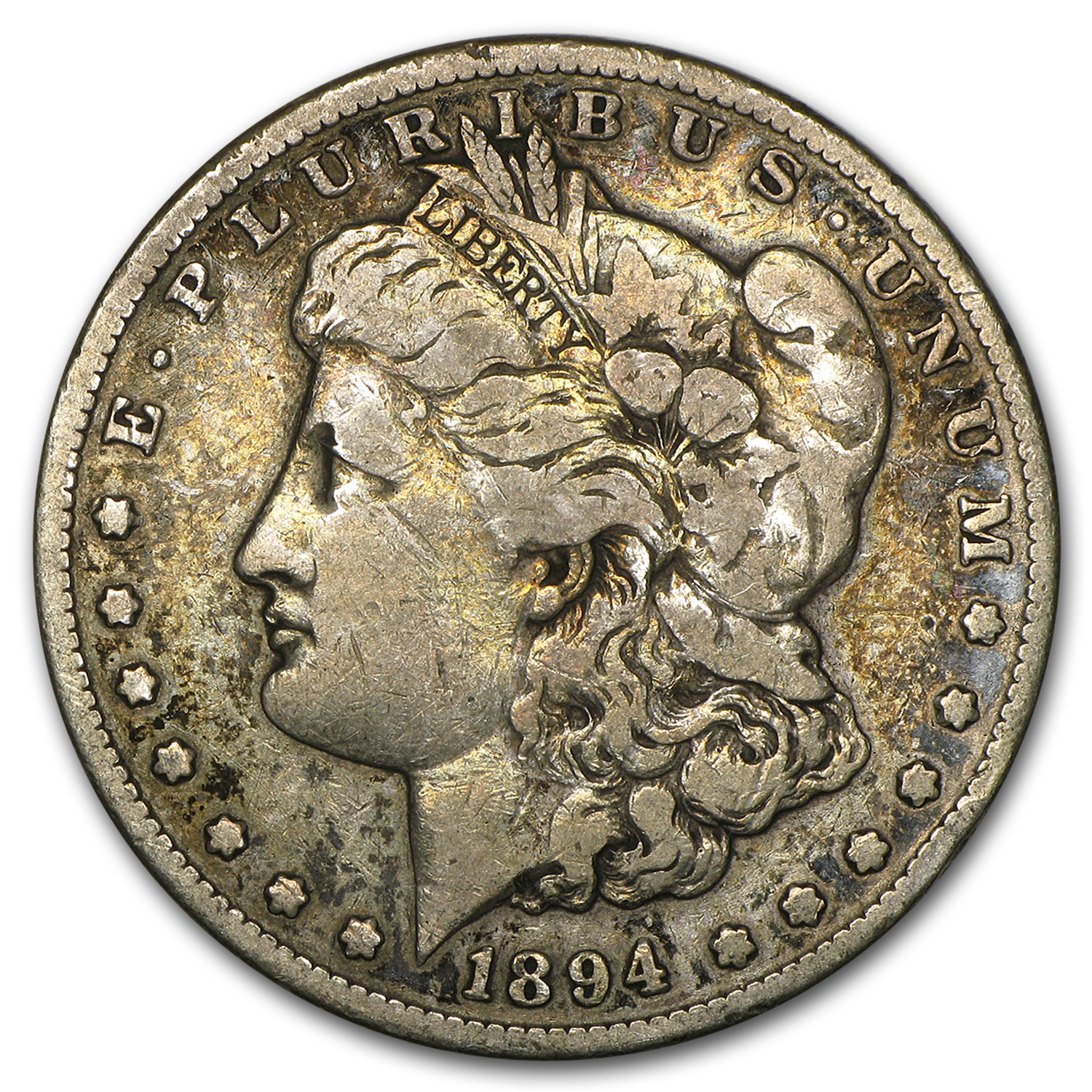1894-S Morgan Dollar VG