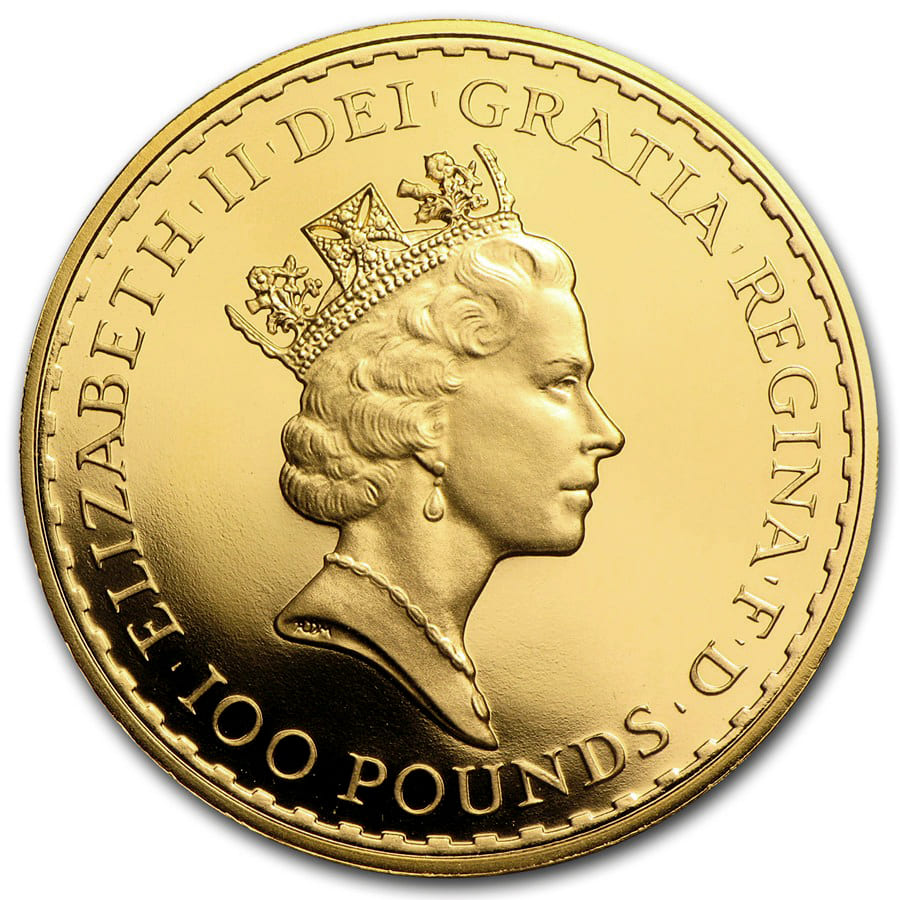 Great Britain Gold 1 oz Britannia BU/Proof (Random Year)
