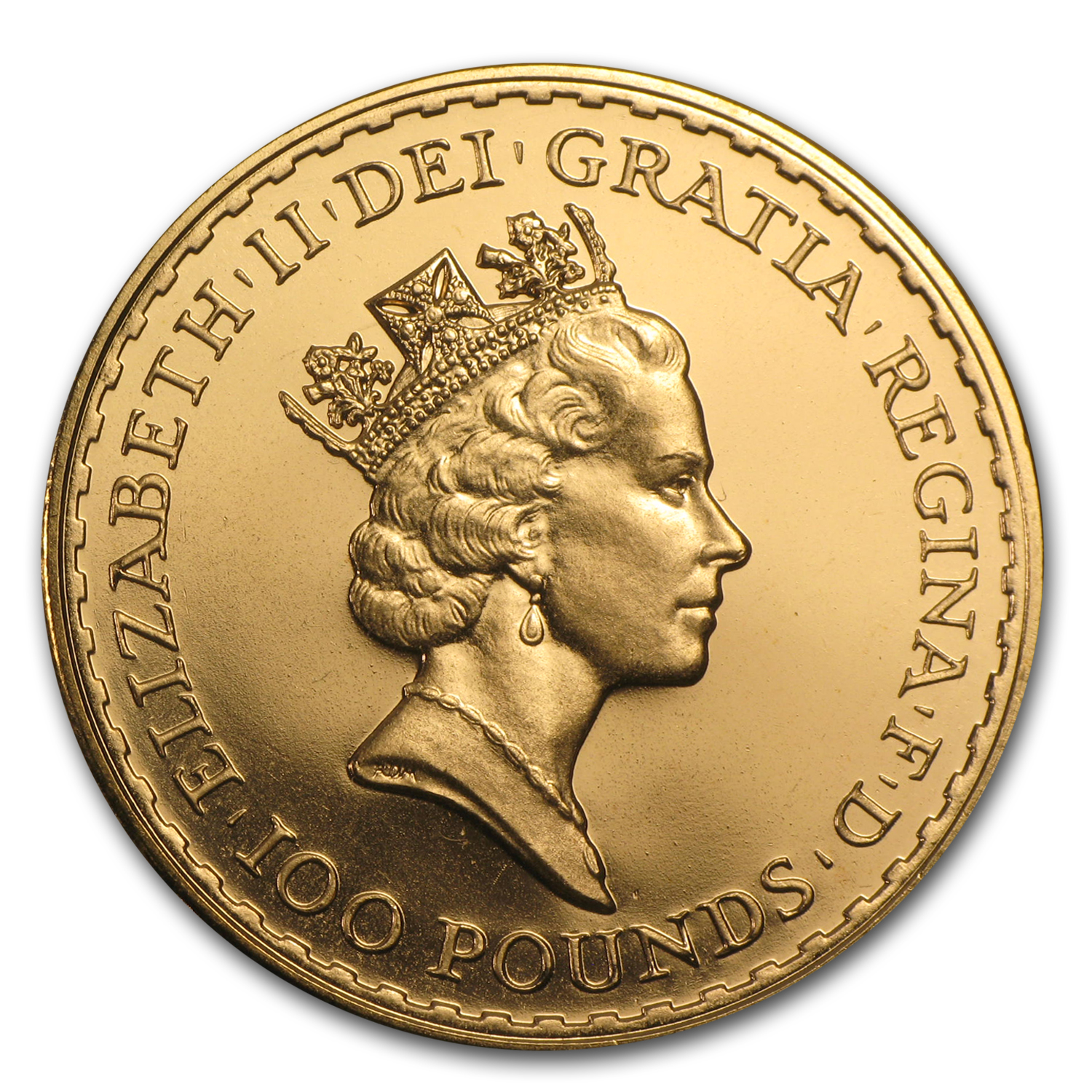 1988 Great Britain Gold 1 oz Britannia BU