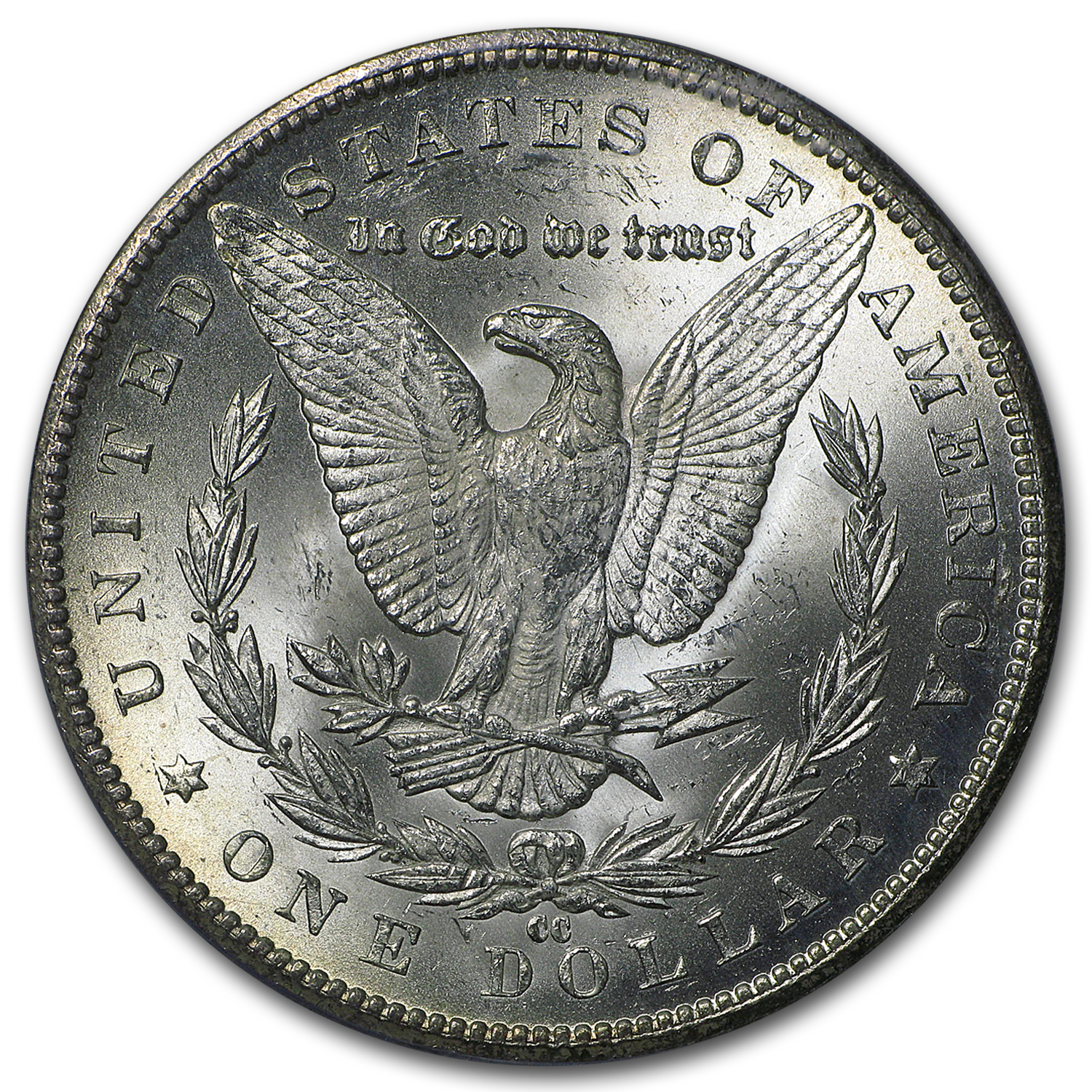 1884-CC Morgan Dollar - MS-64 PCGS - GSA