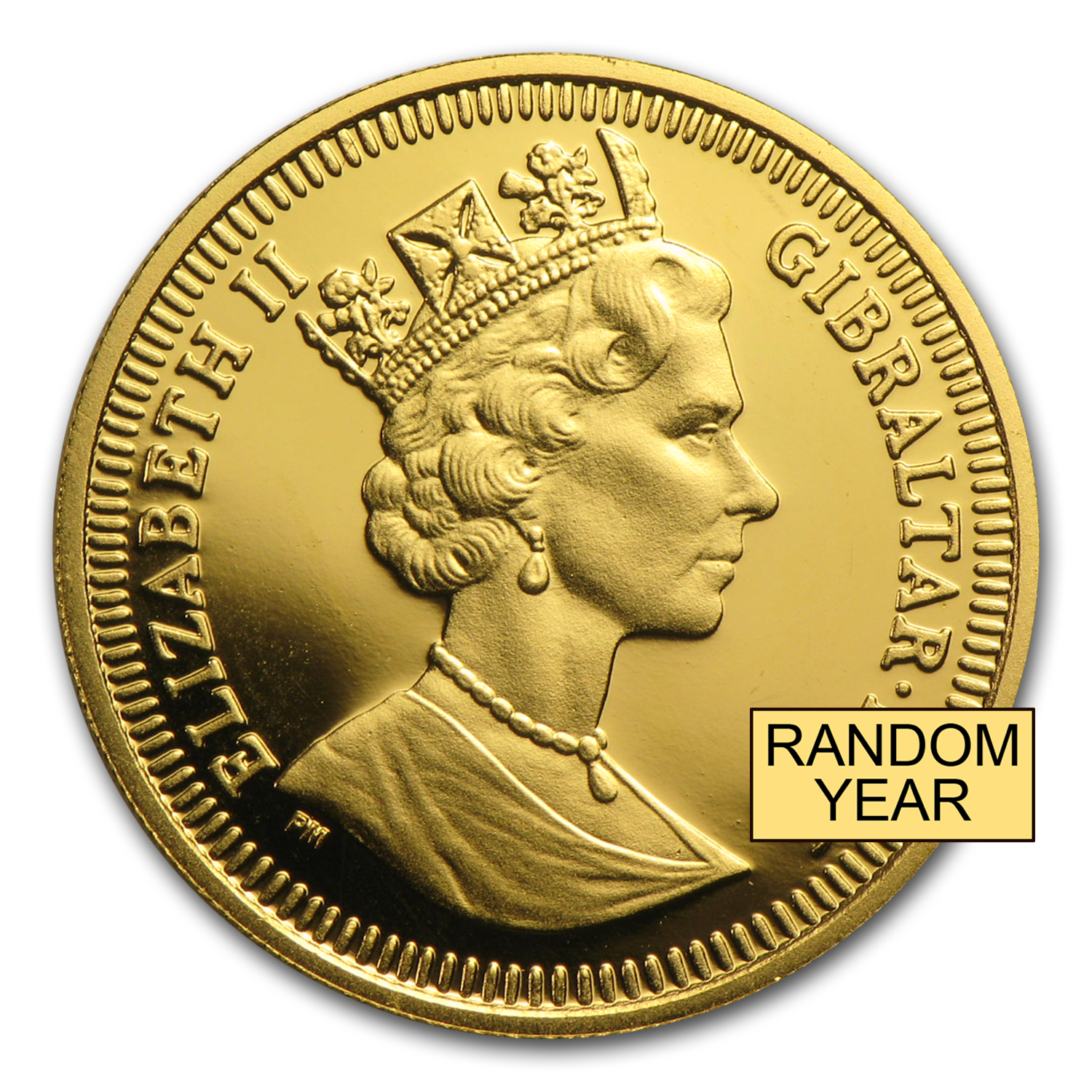 Gibraltar Gold 1/5 oz Royal Dog BU (Random)
