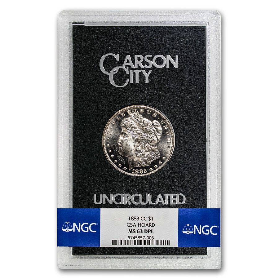 1883-CC Morgan Dollar MS-63 DPL NGC - GSA Certified