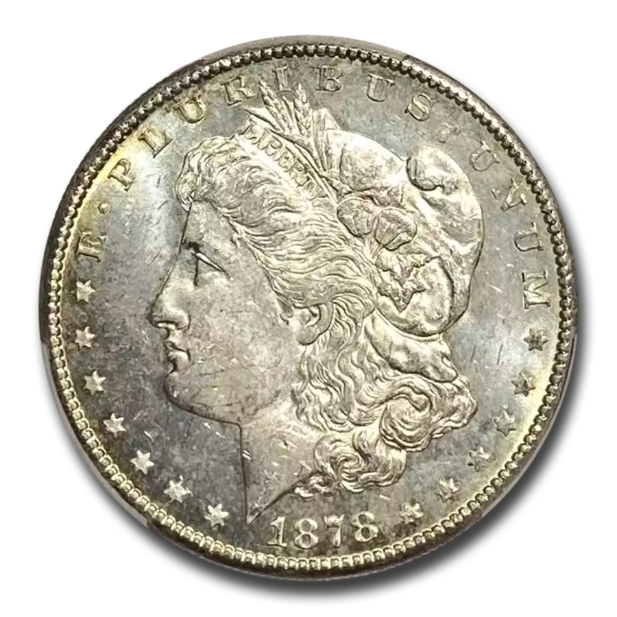 1878-S Morgan Dollar MS-64 PCGS (Toned)