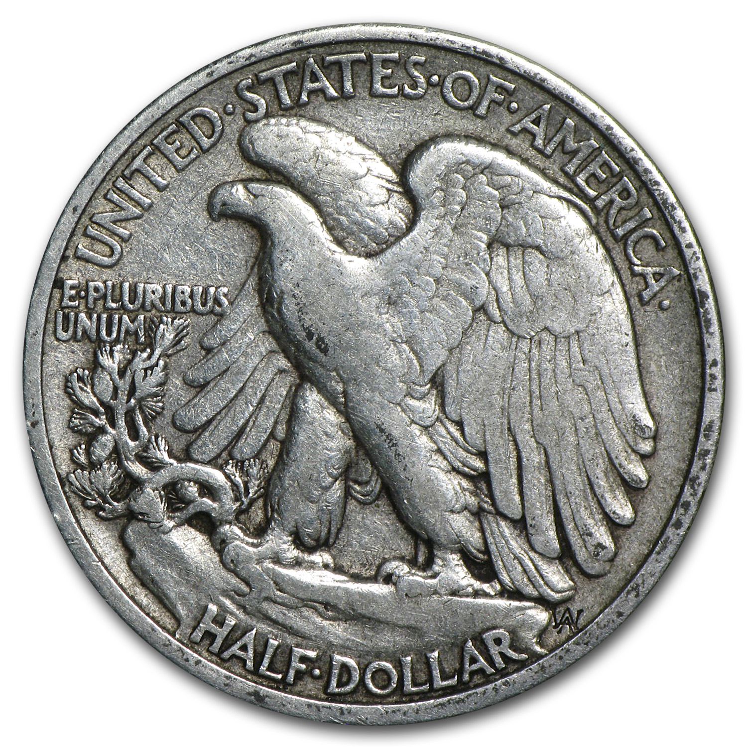 1916-D Walking Liberty Half Dollar - Fine