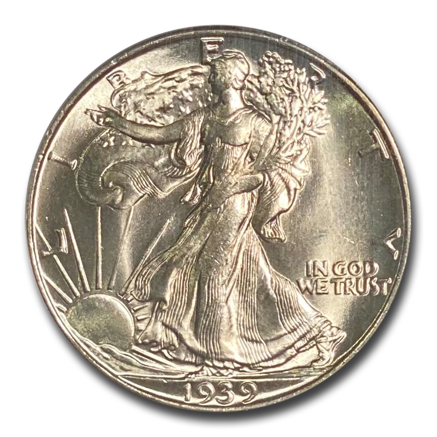 1939-S Walking Liberty Half Dollar MS-65 PCGS