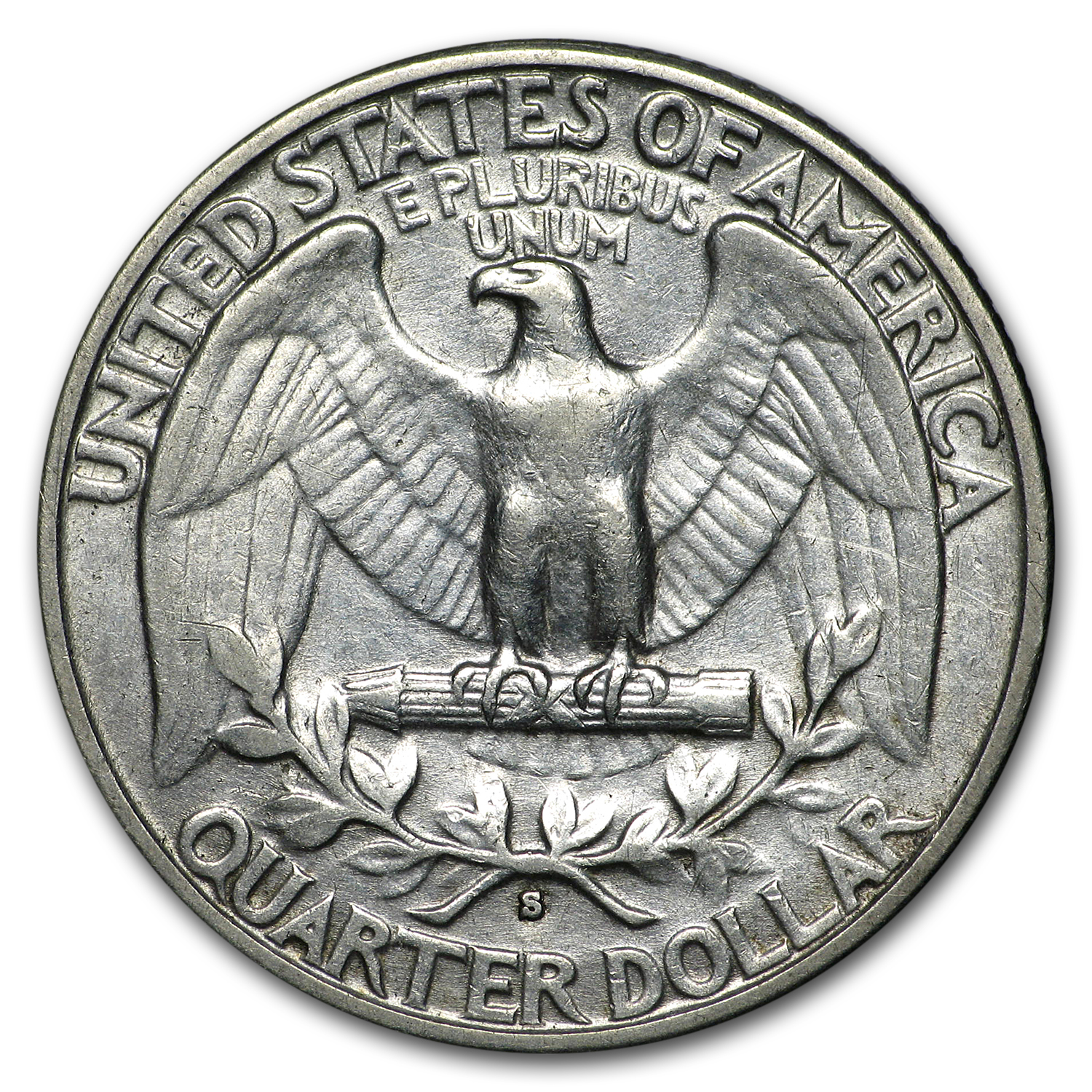 1932-S Washington Quarter XF