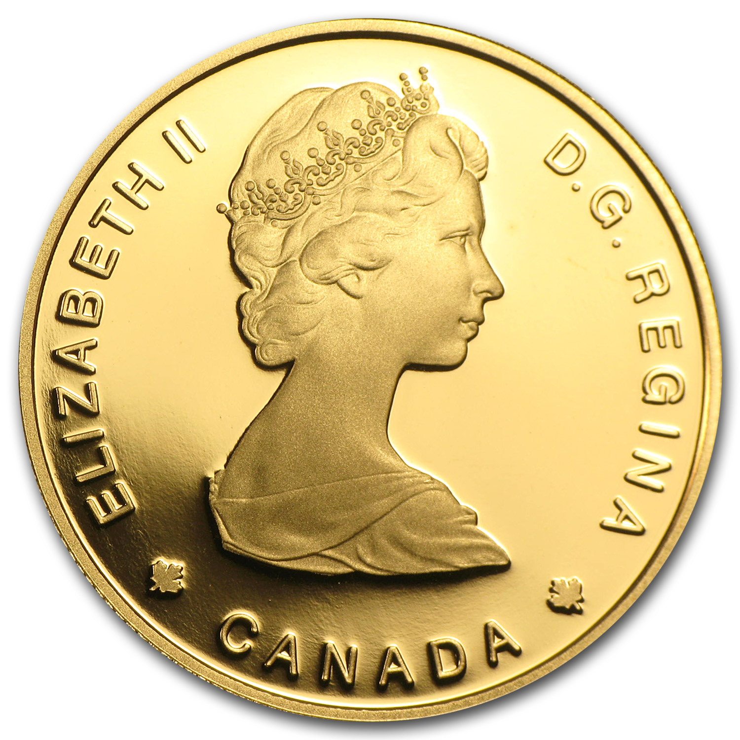 1984 Canada 1/2 oz Proof Gold $100 Jacques Cartier