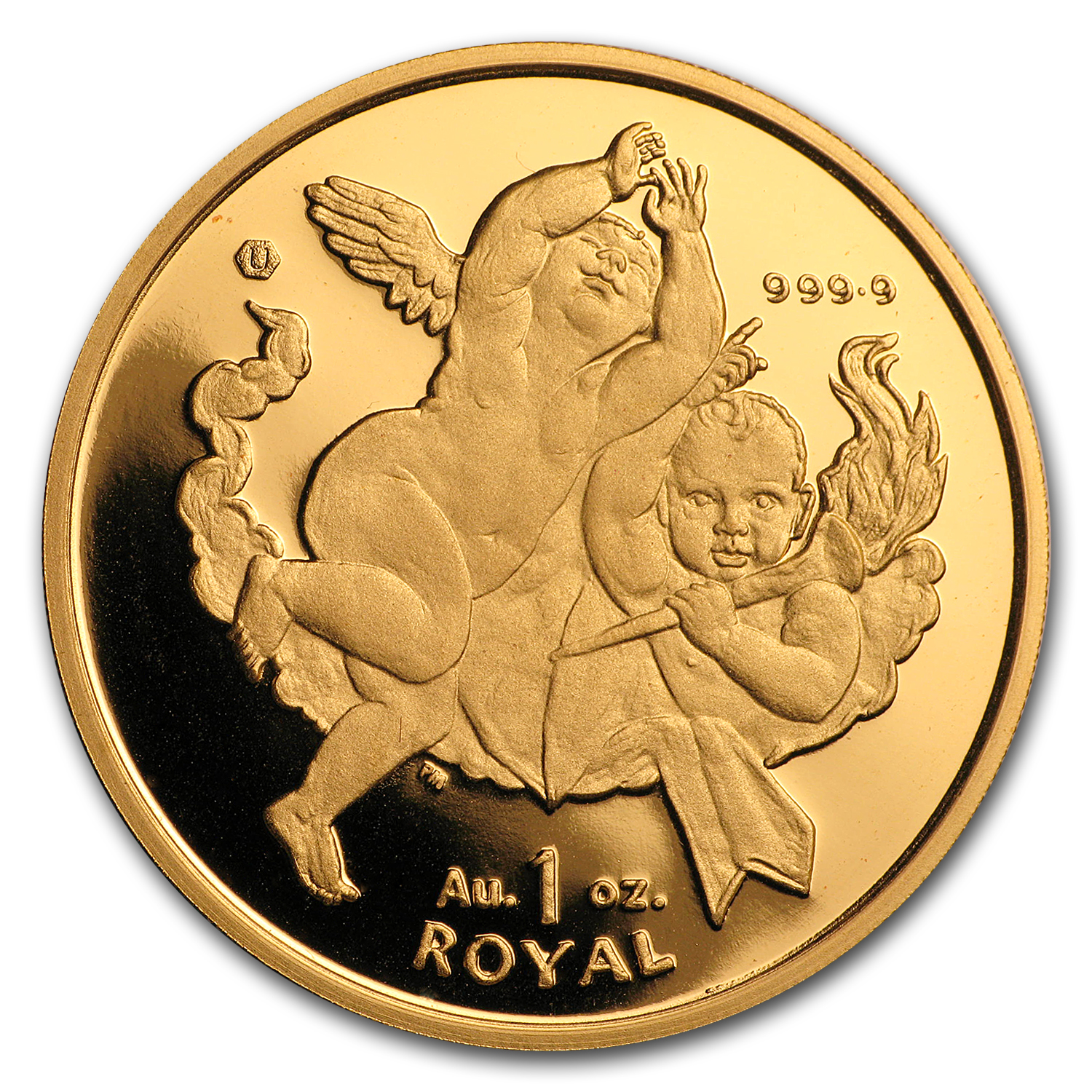 Gibraltar Gold 1 Royal Cherub BU (Random Dates)