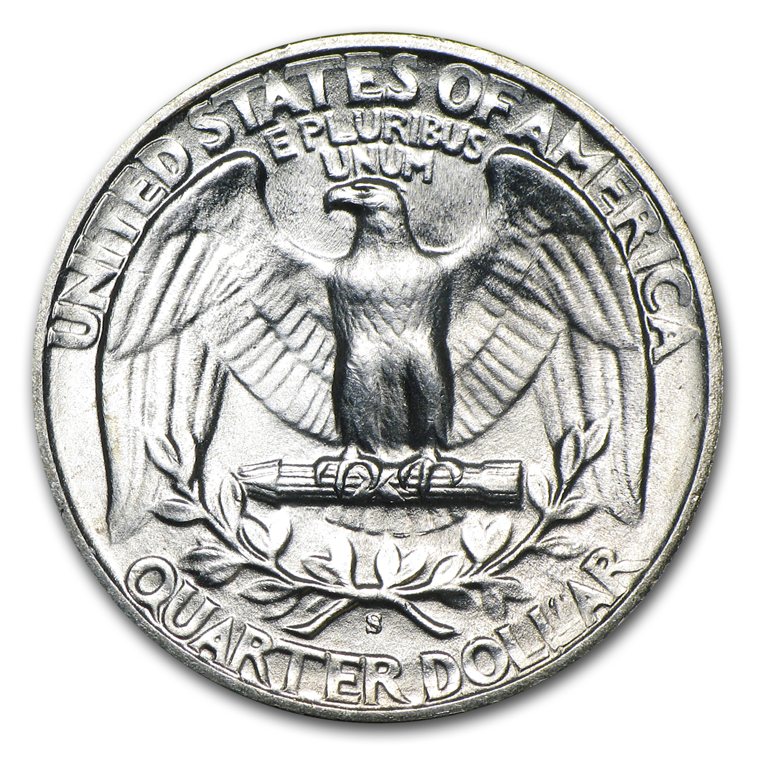 1944-S Washington Quarter BU