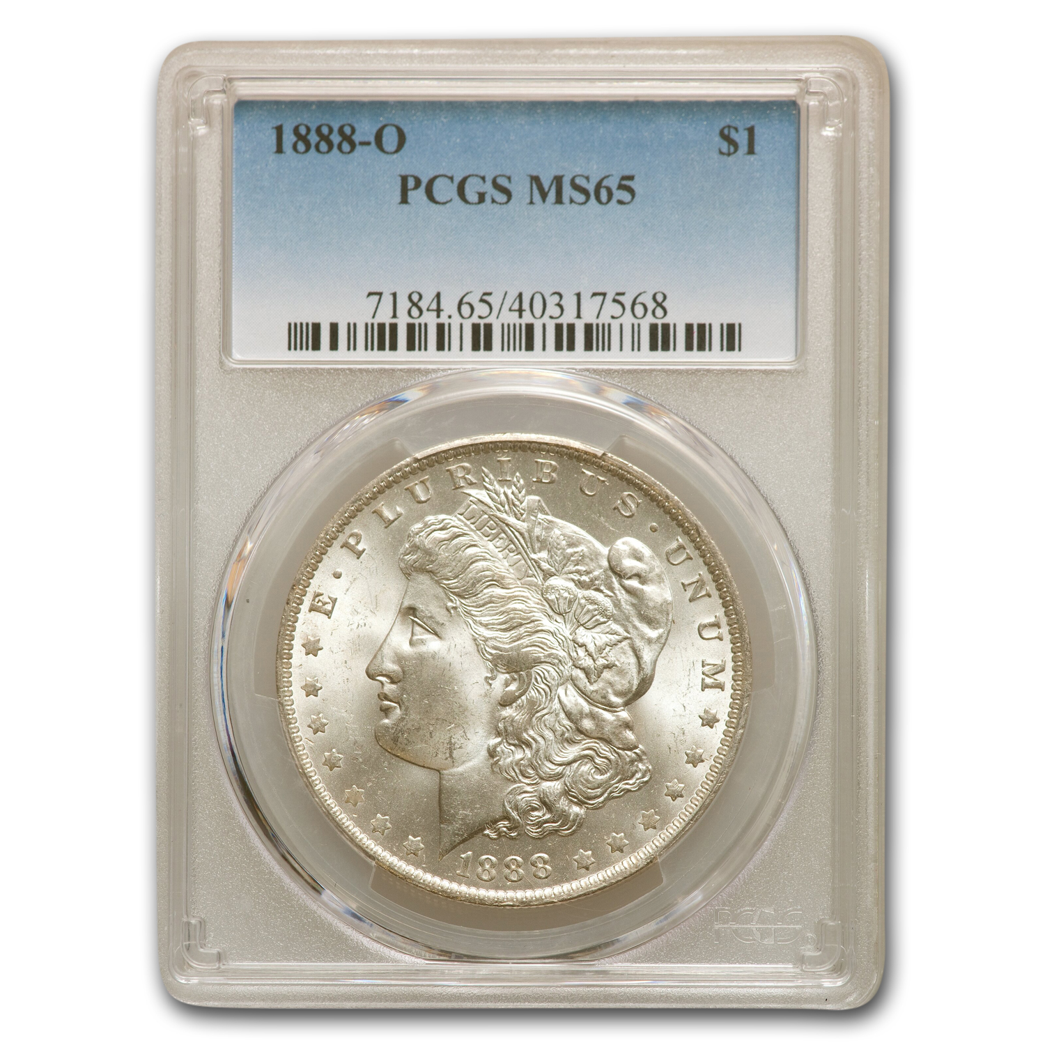 1888-O Morgan Dollar MS-65 PCGS