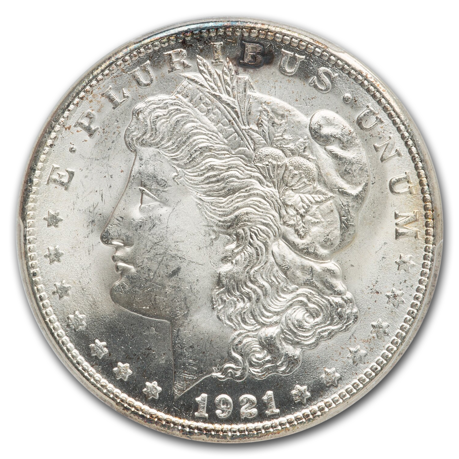 1921-S Morgan Dollar - MS-65 PCGS
