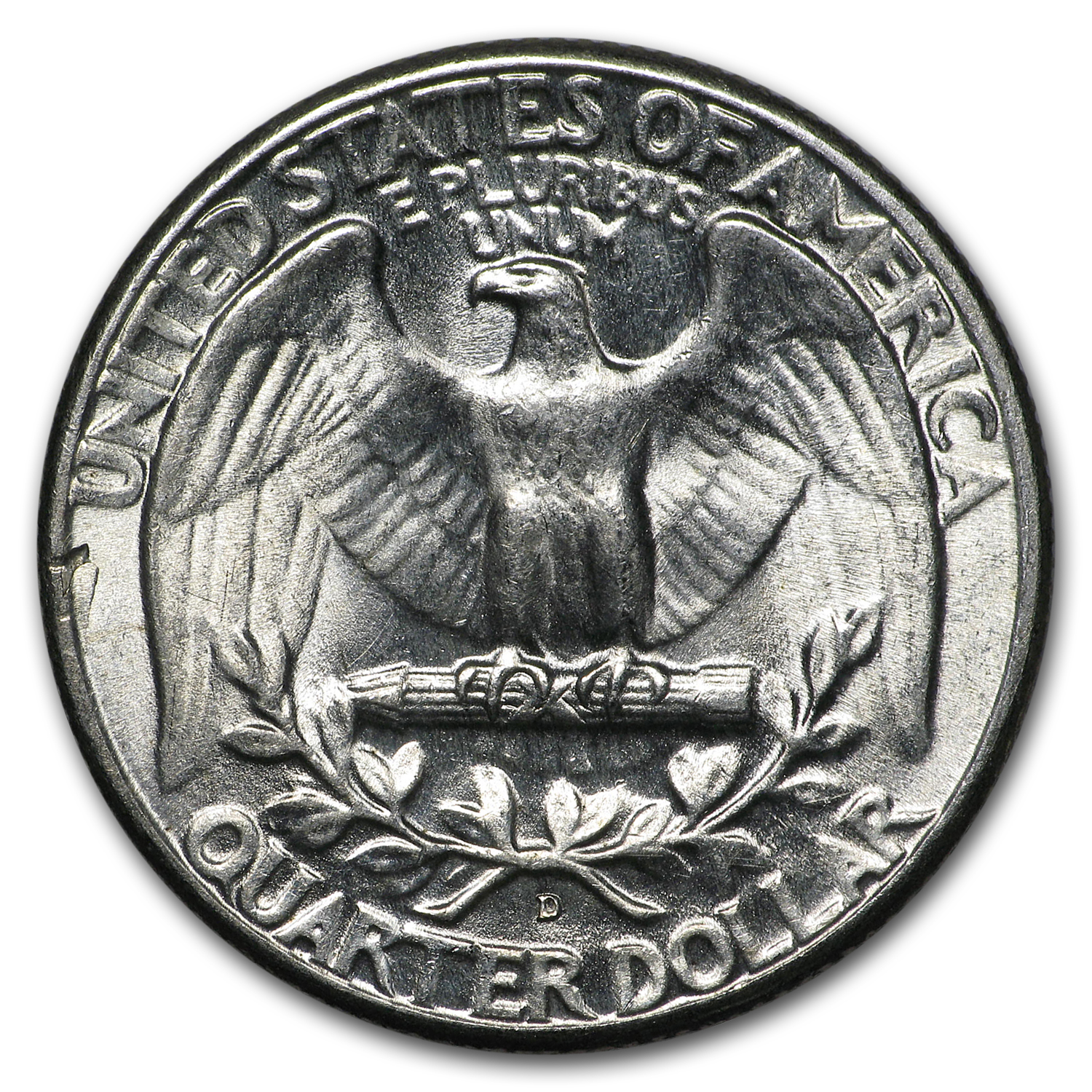 1946-D Washington Quarter BU