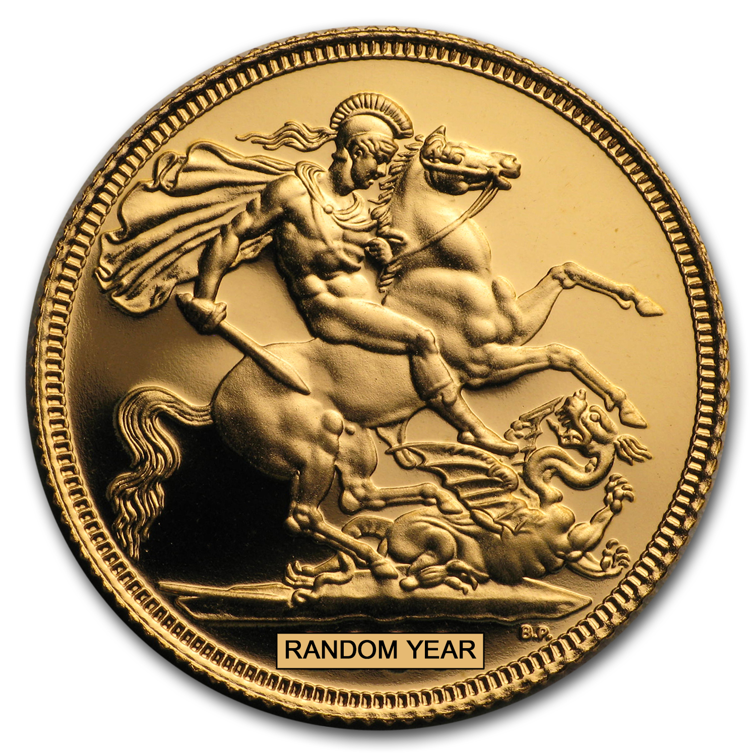 Great Britain Gold Sovereigns (Random Years) (Proof)