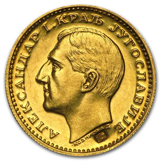 1931 Yugoslavia Gold Dukat Au Details Gold Coins From