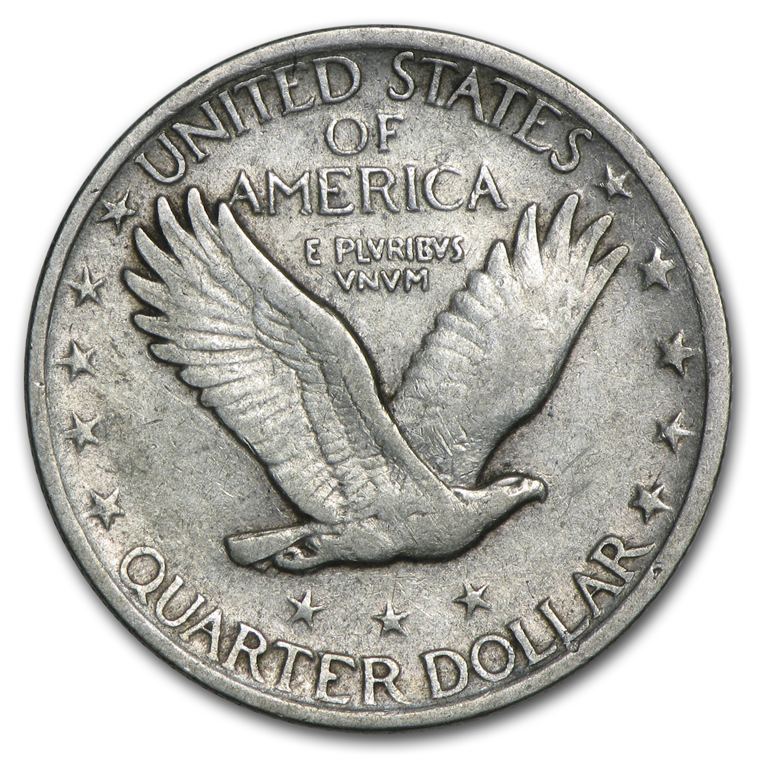 1921 Standing Liberty Quarter VF