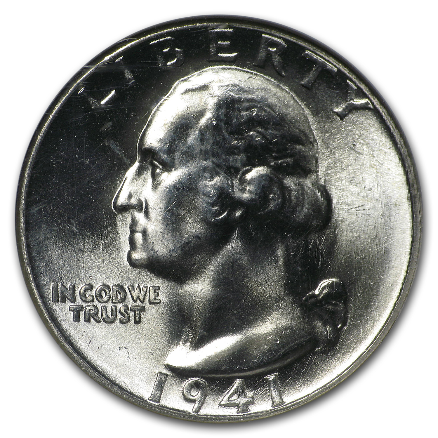 1941 Washington Quarter MS-66 NGC