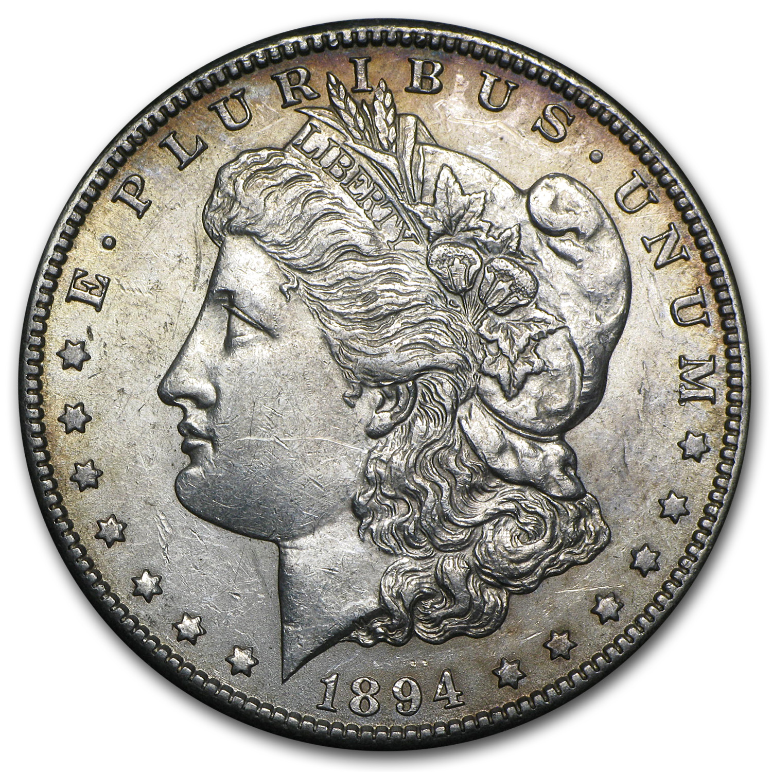 1894-S Morgan Dollar AU-55