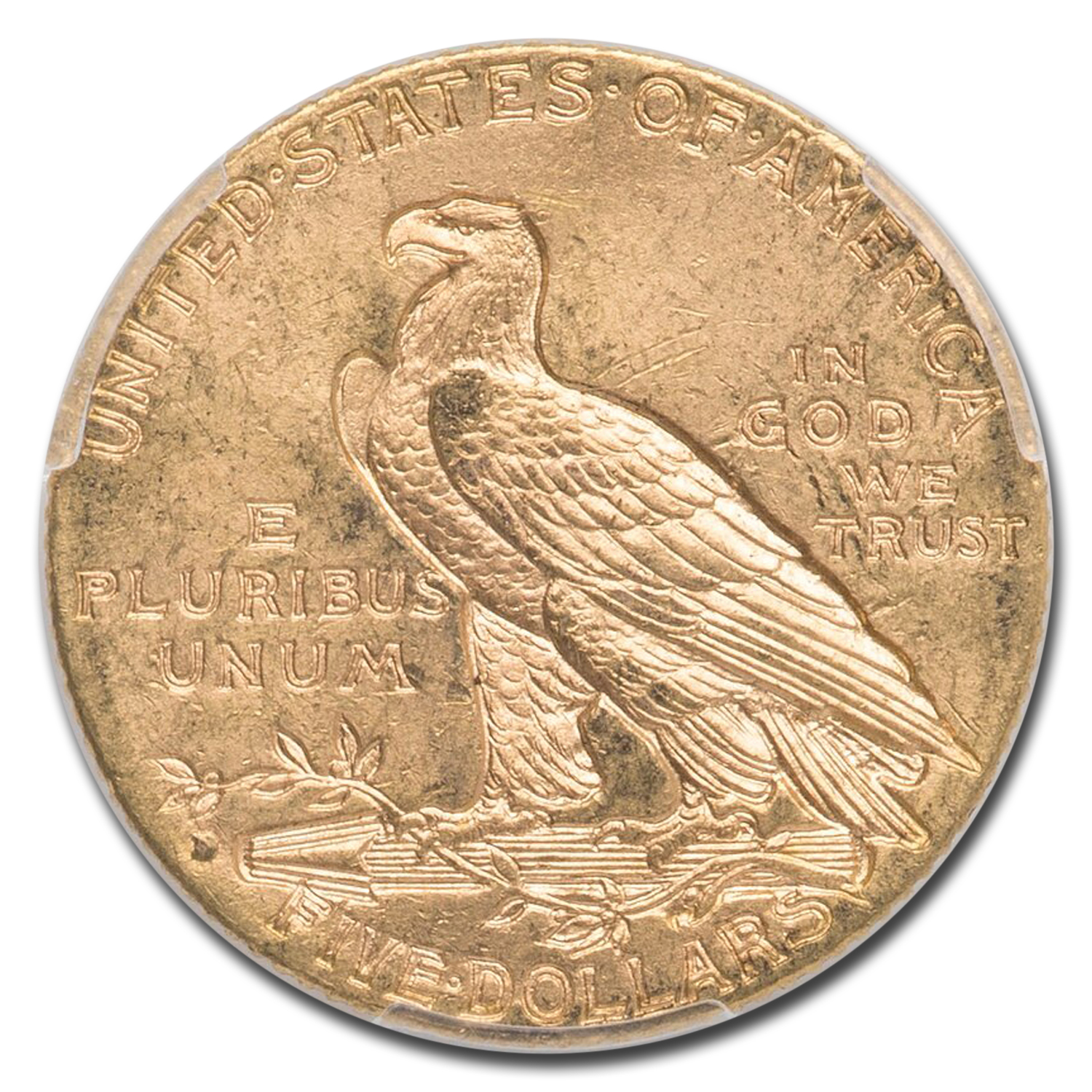 1909-D $5 Indian Gold Half Eagle - MS-63 PCGS CAC
