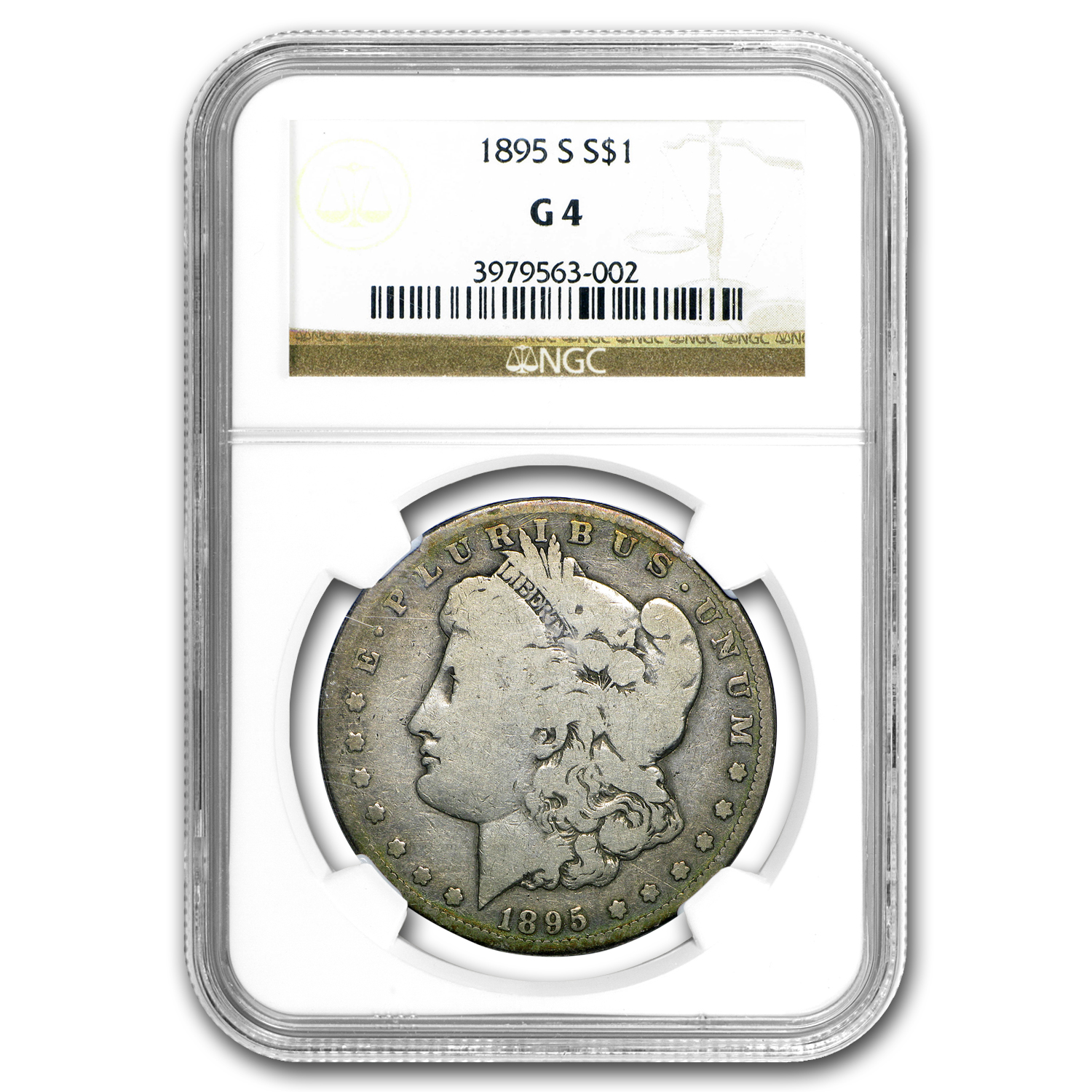 1895-S Morgan Dollar Good-4 NGC