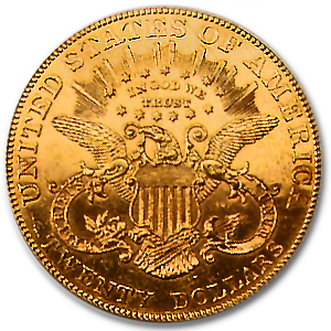 1904 $20 Gold Liberty Double Eagle - MS-62 PL NGC