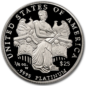 2006-W 1/4 oz Proof Platinum American Eagle PR-69 PCGS
