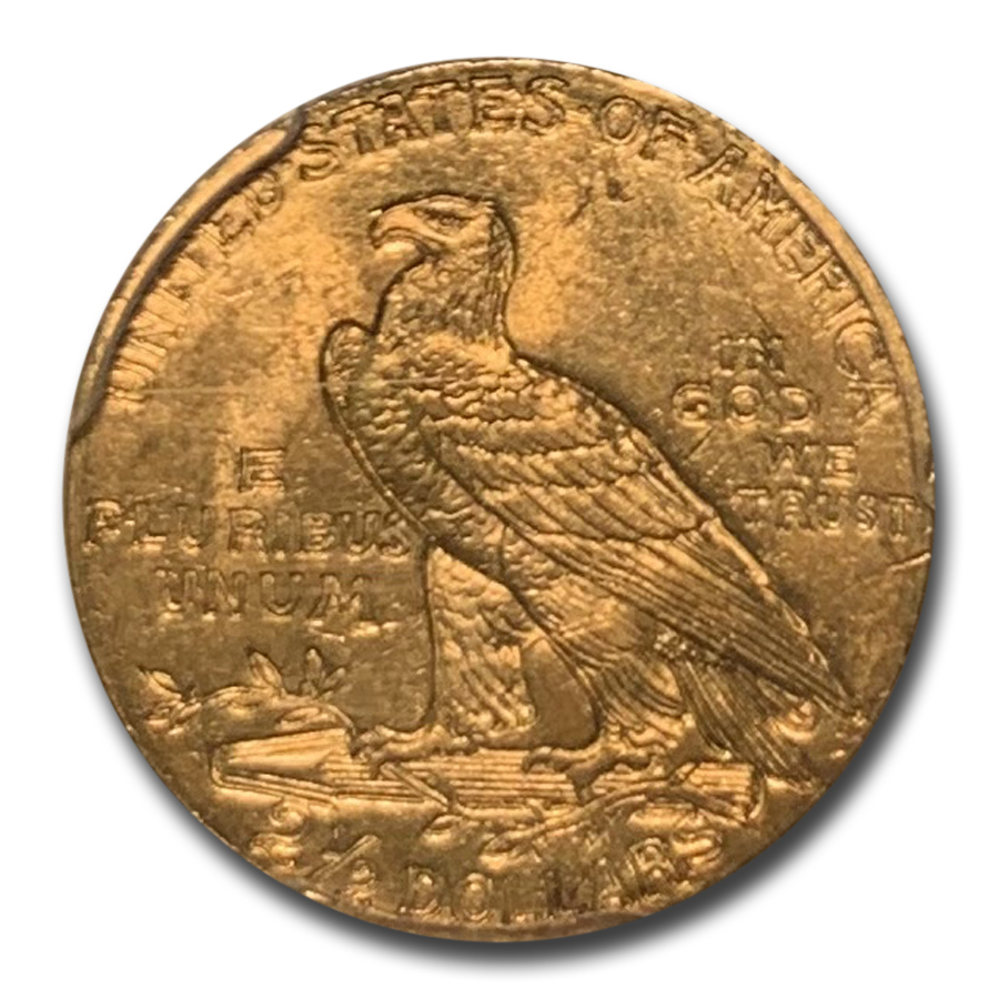 1911 $2.50 Indian Gold Quarter Eagle MS-63 PCGS