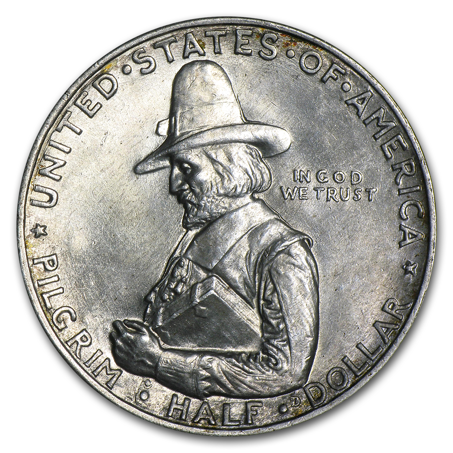 1920 Pilgrim Almost Uncirculated