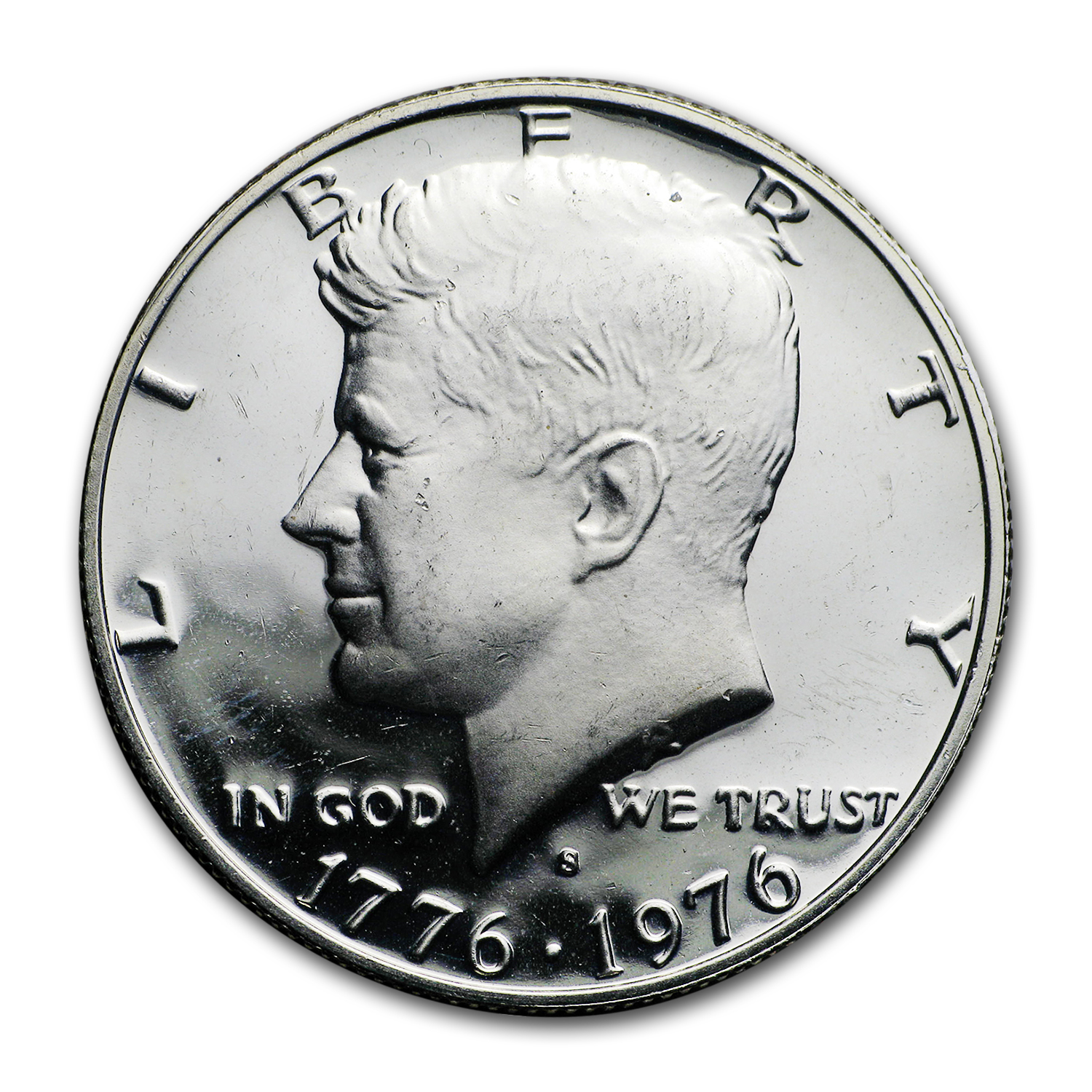 1976-S 40% Silver Kennedy Half Dollar 20-Coin Roll Proof