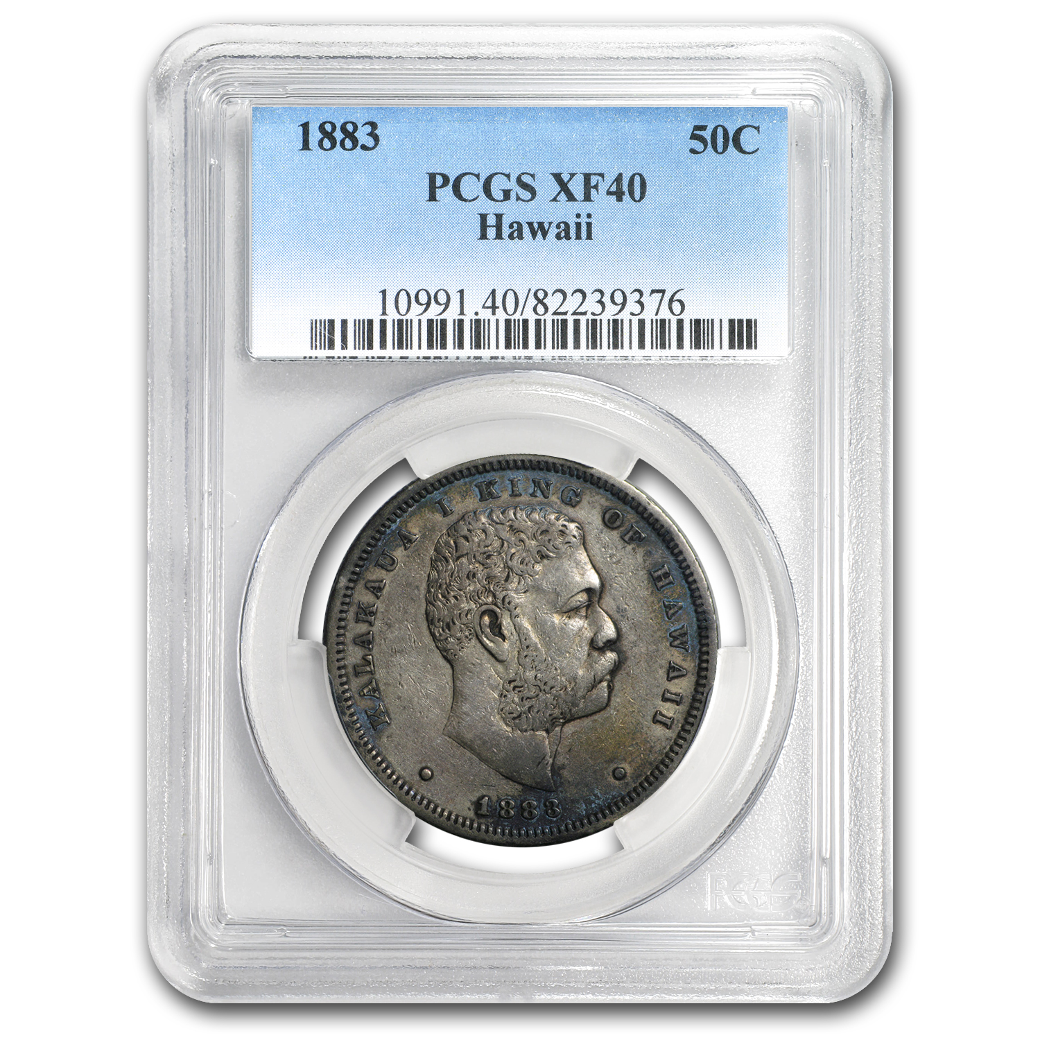 1883 Hawaii Half Dollar XF-40 PCGS