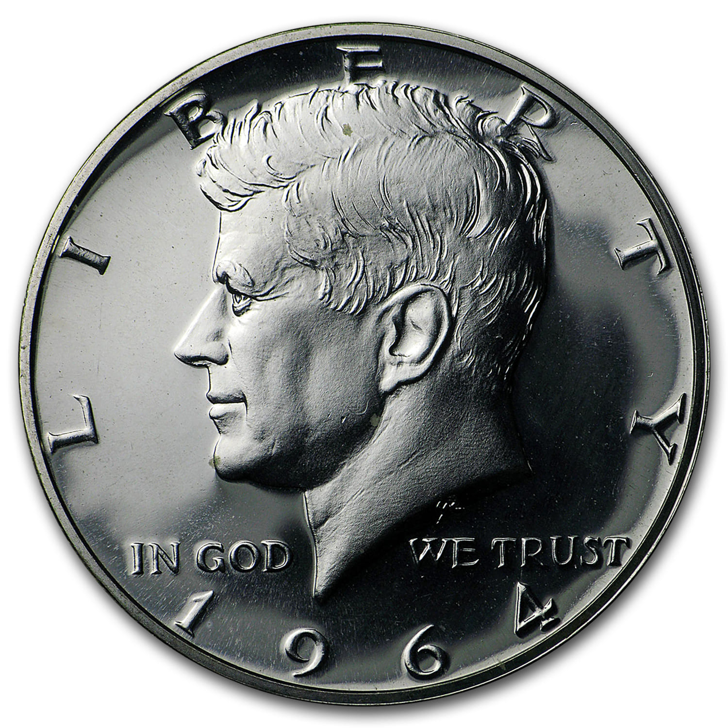 1964 Kennedy Half Dollar 20-Coin Roll Proof