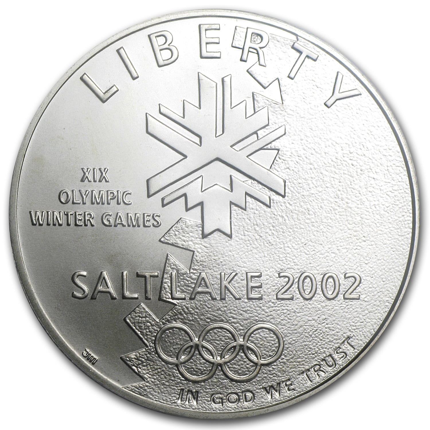 2002-P Olympic Winter Games $1 Silver Commem MS-70 PCGS