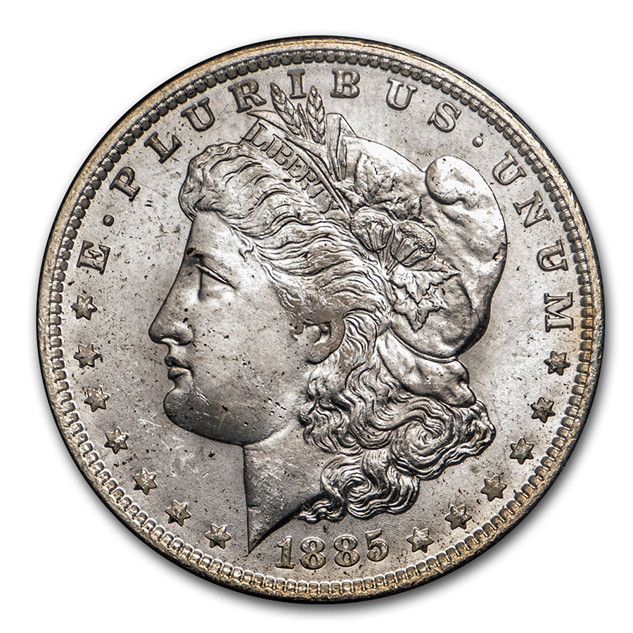 1885-O Morgan Dollar MS-64 NGC (GSA)