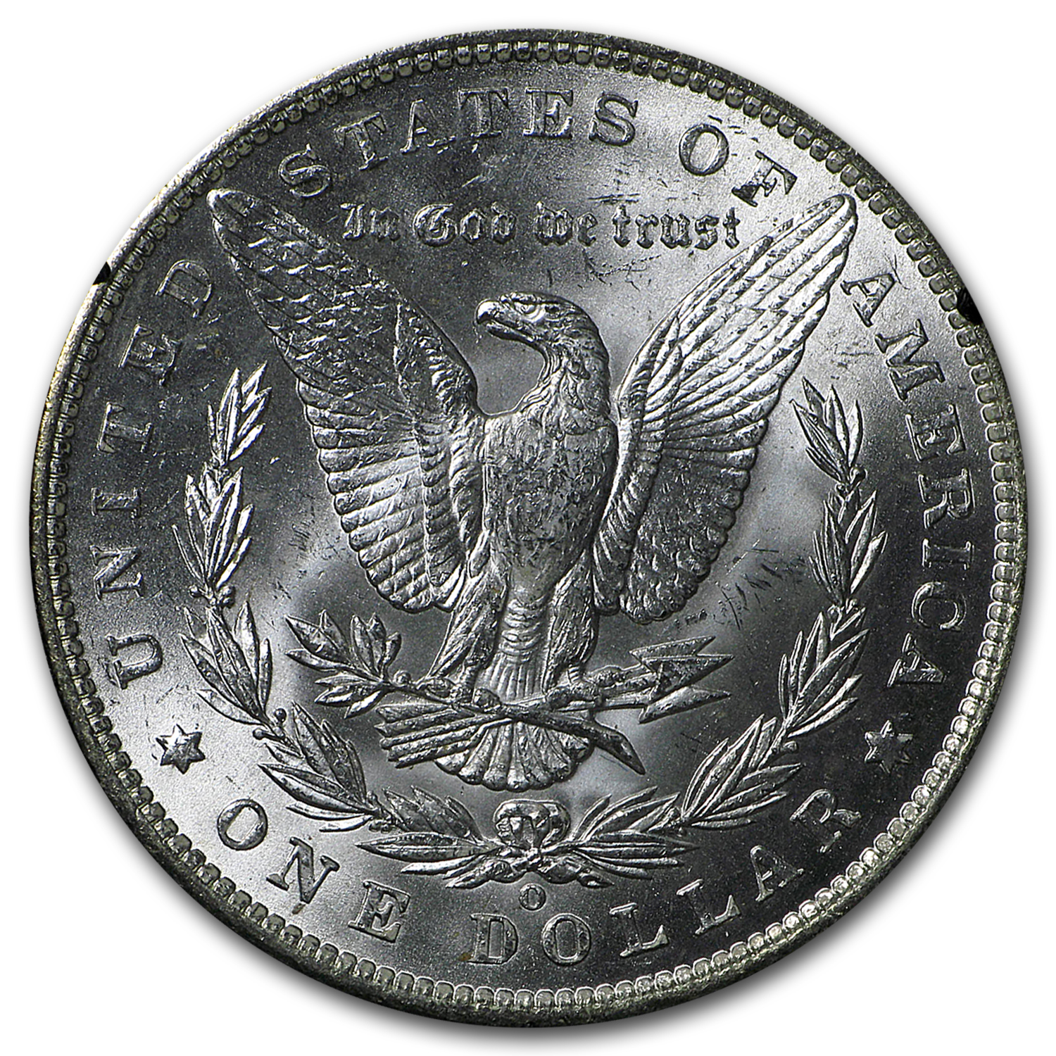 1885-O Morgan Dollar Brilliant Uncirculated - GSA Holder