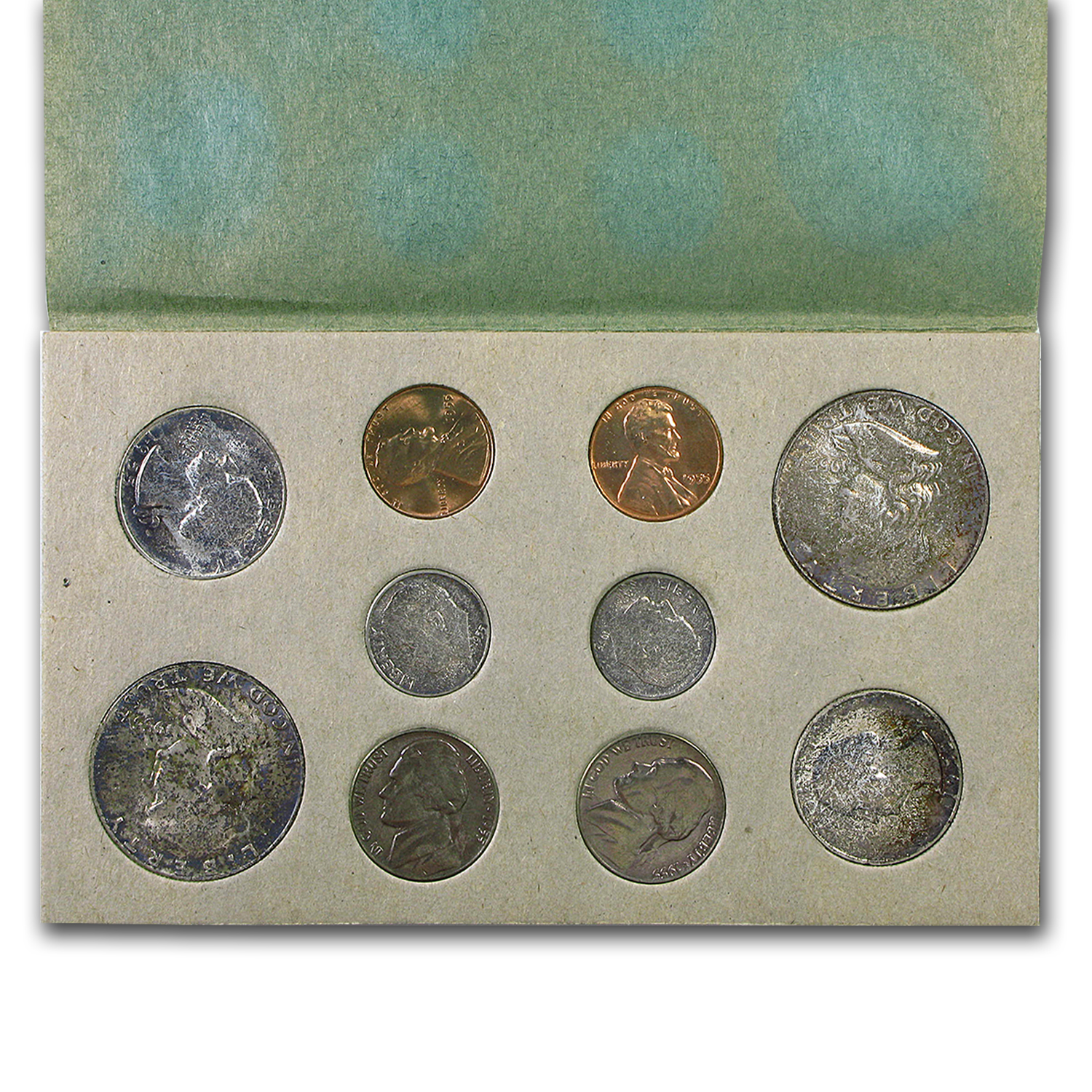 1955 U.S. Double Mint Set