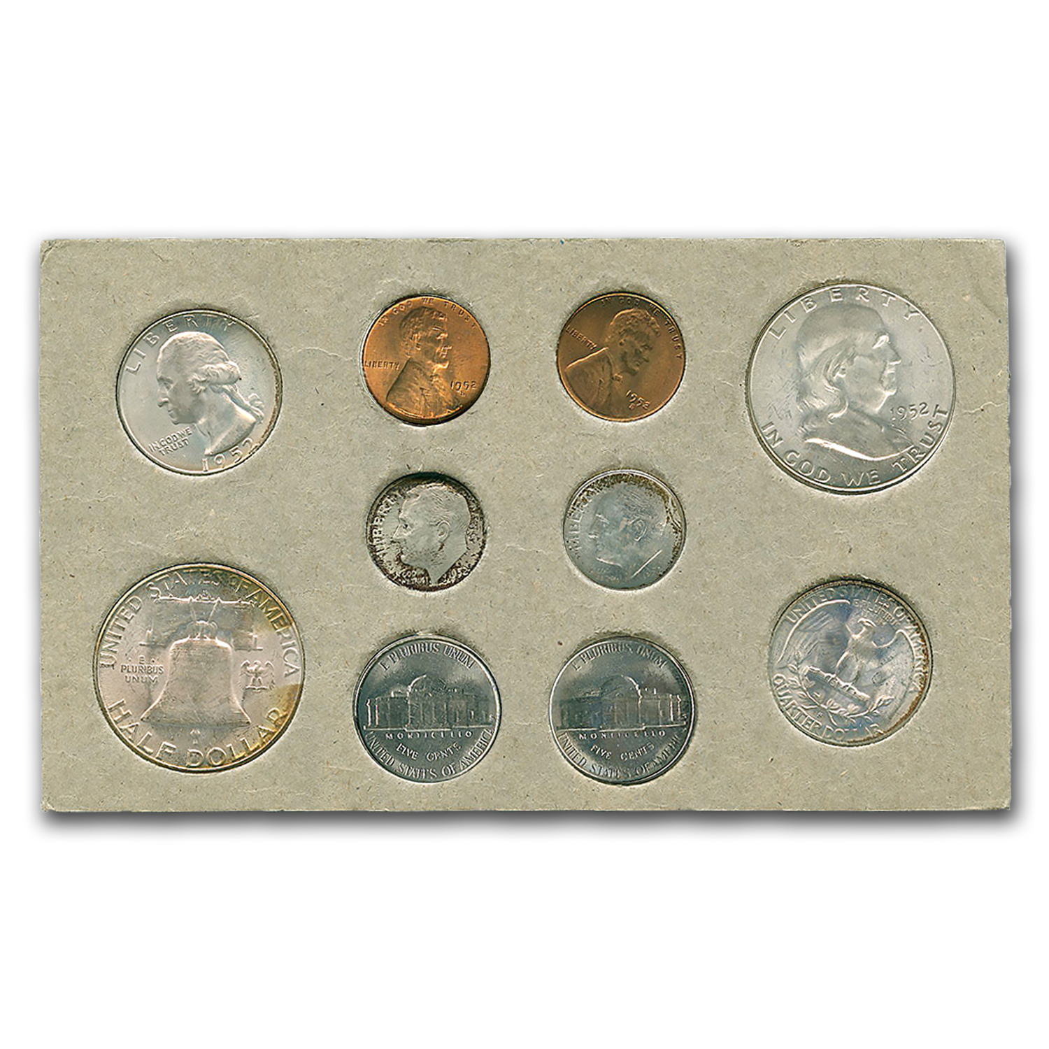 1952 U.S. Double Mint Set