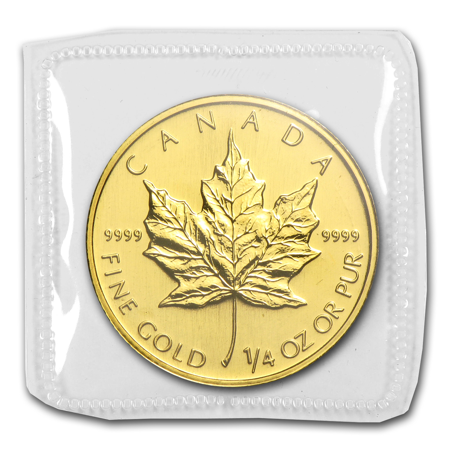 2008 1/4 oz Gold Canadian Maple Leaf