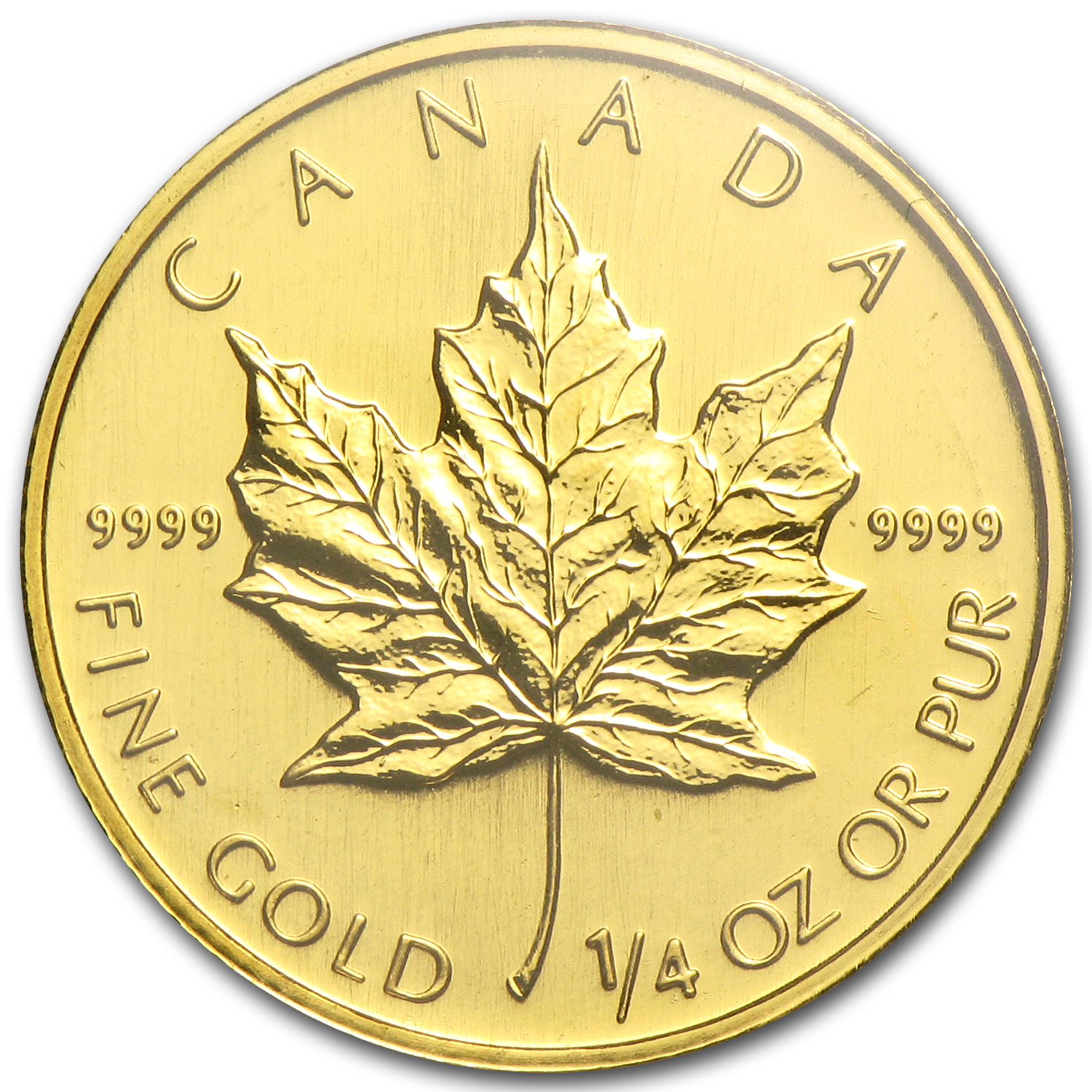 2008 Canada 1/4 oz Gold Maple Leaf BU