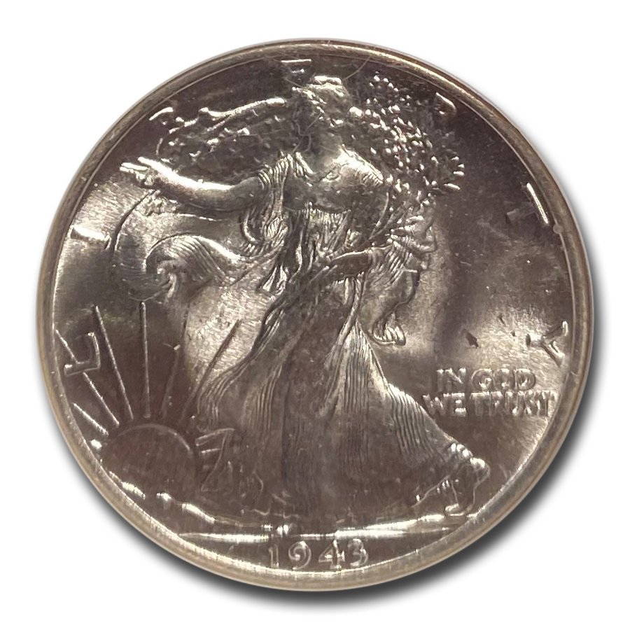 1943 Walking Liberty Half Dollar MS-65 NGC