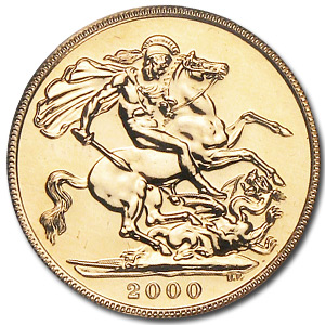 2001 Great Britain Gold Sovereign MS-67 PCGS