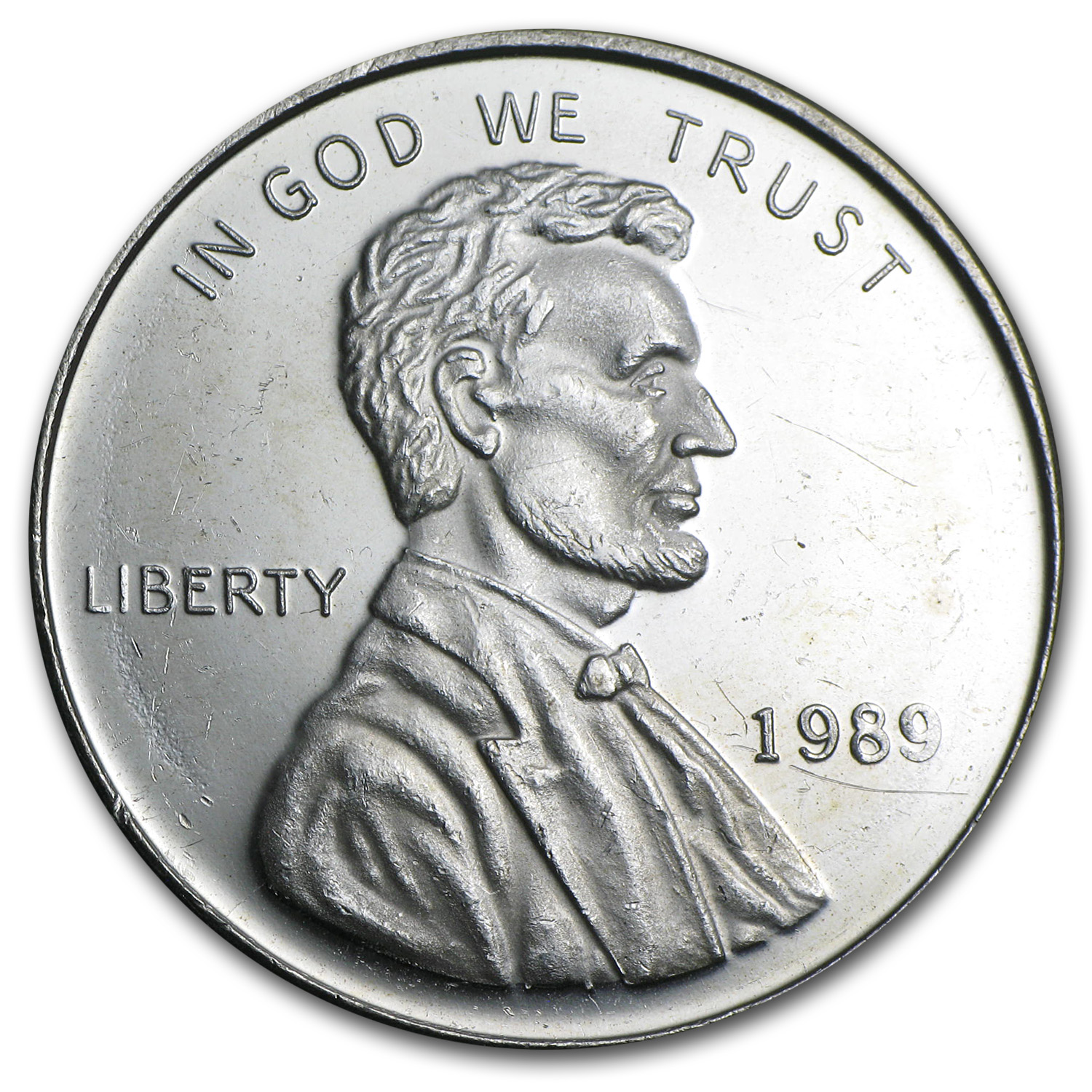 1 oz Silver Round - Lincoln Cent (Replica)