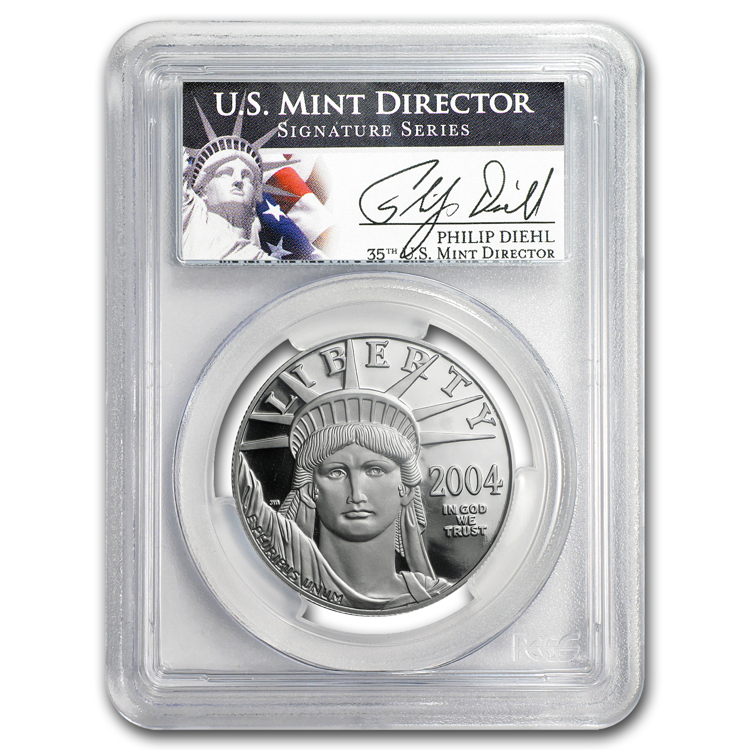 2004-W 1 oz Proof Platinum American Eagle PR-69 PCGS